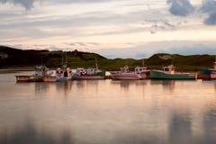 Alba in Nuova Scozia Fotografia Stock Libera da Diritti