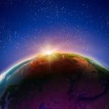 Alba o tramonto Fotografia Stock