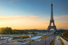 Alba a Parigi Immagini Stock