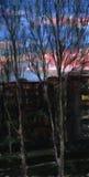 alba Pittura dell'acquerello Immagini Stock Libere da Diritti