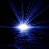 Alba riflessa in acqua Fotografia Stock Libera da Diritti