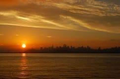 Alba a San Francisco 1 Fotografie Stock Libere da Diritti