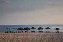 Albański morze Fotografia Royalty Free