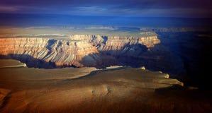 Alba sopra il grande canyon Immagine Stock Libera da Diritti