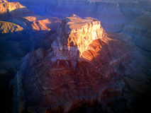 Alba sopra il grande canyon Fotografia Stock