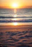 Alba sopra l'Oceano Atlantico Fotografie Stock