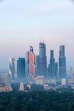 Alba sopra Mosca Immagini Stock Libere da Diritti