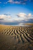 Alba su un'isola tropicale Immagini Stock Libere da Diritti