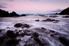 Alba sul litorale Fotografia Stock