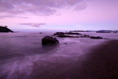 Alba sul litorale Fotografia Stock Libera da Diritti
