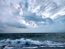 Alba sul Mar Nero, Odessa, Ucraina, 2016 Fotografia Stock Libera da Diritti