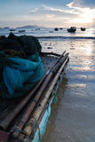 Alba sul mare di Xiapu Fotografia Stock Libera da Diritti