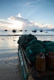 Alba sul mare di Xiapu Immagine Stock Libera da Diritti