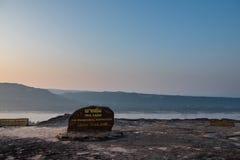 Alba sul parco nazionale di Pha Taem, Khong Chiam, Ubon Ratchathani, Tailandia fotografia stock libera da diritti