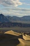 Alba sulle dune di sabbia piane del Mesquite Immagine Stock Libera da Diritti