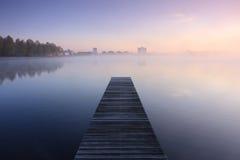 Alba tranquilla Fotografia Stock Libera da Diritti