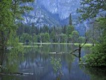 Alba in valle del Yosemite Fotografie Stock Libere da Diritti