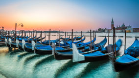 Alba a Venezia Fotografia Stock