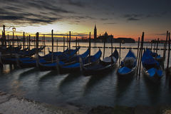 Alba a Venezia Immagine Stock