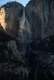 Alba in Yosemite Falls Fotografia Stock Libera da Diritti