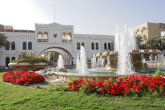 albab bahrain Arkivfoto