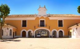 Albacete Feria in Castile La Mancha. In Spain royalty free stock images