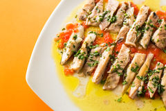 Albacore fillet Royalty Free Stock Photography