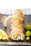 Albacore-Thunfisch-Sushi-Rolle Stockbild