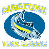 Albacore tuna fish classic Royalty Free Stock Image