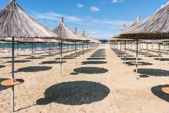 albacoren Strand i golemen för semesterortområde royaltyfria bilder