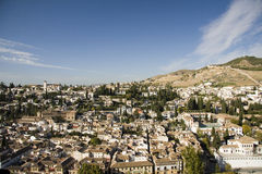 albaicin西班牙语人聚居的区域del 库存图片