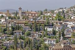 Albaicin, Γρανάδα, Ισπανία στοκ εικόνες
