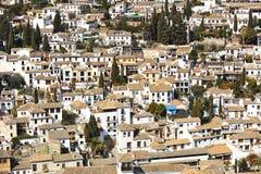 Albaicin, Γρανάδα, Ισπανία στοκ εικόνες με δικαίωμα ελεύθερης χρήσης