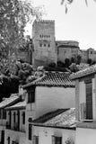 Albaicin και Alhambra Στοκ Εικόνα