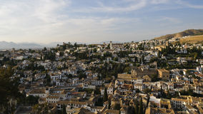 The Albaicin, the Arabic district of Granada Royalty Free Stock Photos