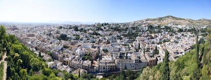 Albaicin Bezirk, Granada. Stockbild
