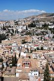Albaicin District, Granada. Stock Photography