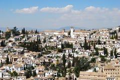 Albaicin District, Granada. Royalty Free Stock Photos