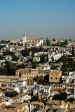 Albaicin do Alhambra Imagem de Stock Royalty Free