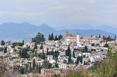 Albaicin, Granada Fotografia Royalty Free