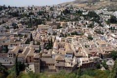 Albaicin Granada, Andalusia, Spanien arkivfoto