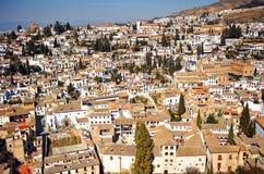 Albaicin, Granada, España Fotos de archivo libres de regalías