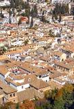 Albaicin, granada, Espanha Imagem de Stock