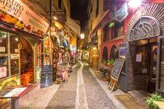 Albaicin Granada by night Royalty Free Stock Image