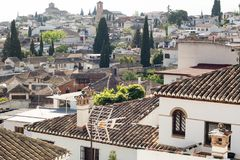 Albaicin Granada Stock Photos