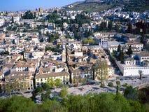Albaicin in Granada,Spain Stock Image