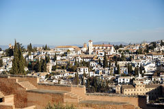 Albaicin, Granada, Spain Royalty Free Stock Photo