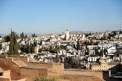 Albaicin, Granada, Spain Royalty Free Stock Photo