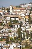 Albaicin, Grenade, Espagne Photo libre de droits