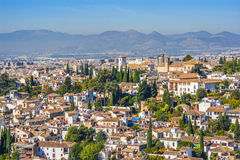 Albaicin medieval quarter,Granada, Spain Stock Images